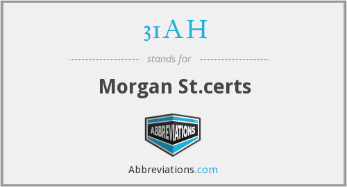 What does 31AH stand for?