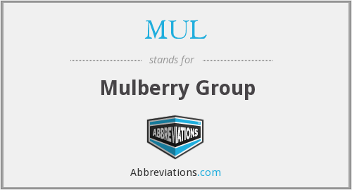 MUL - Mulberry Group