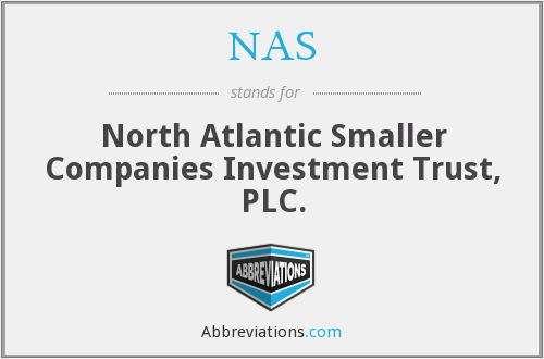 NAS - North Atlantic Smaller Companies Investment Trust, PLC.