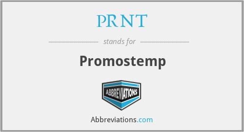 PRNT - Promostemp