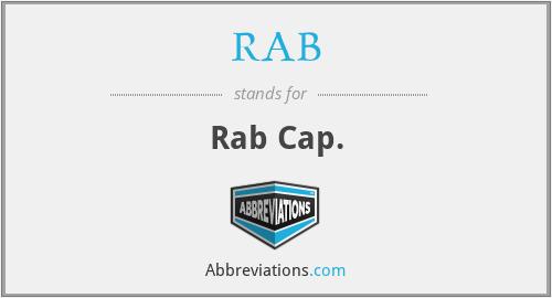RAB - Rab Cap.