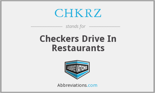 What does CHKRZ stand for?