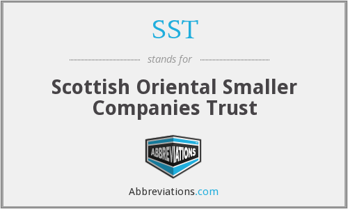 SST - Scottish Oriental Smaller Companies Trust