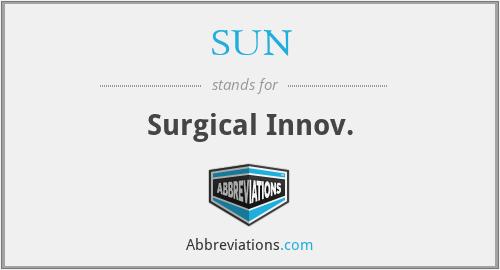 SUN - Surgical Innov.