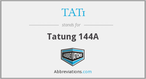 What does TAT1 stand for?