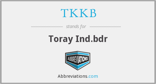 What does TKKB stand for?
