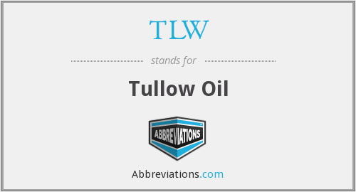 TLW - Tullow Oil