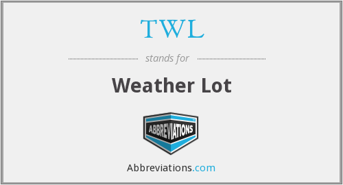 TWL - Weather Lot