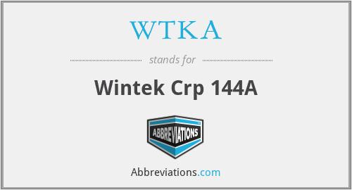 WTKA - Wintek Crp 144A