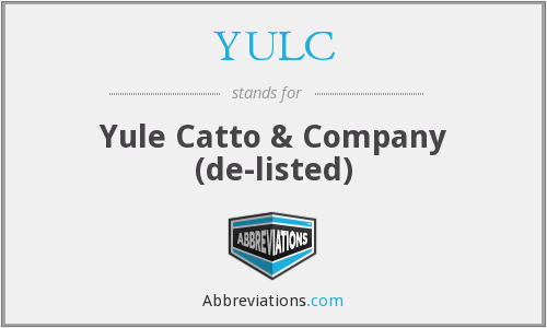 YULC - Yule Catto