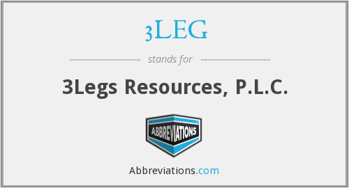 3LEG - 3Legs Resources, P.L.C.