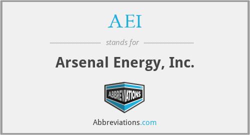 AEI - Arsenal Energy, Inc.