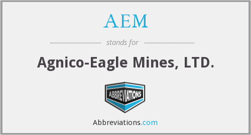 AEM - Agnico-Eagle Mines, LTD.