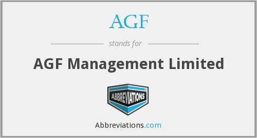 AGF - AGF Management Limited