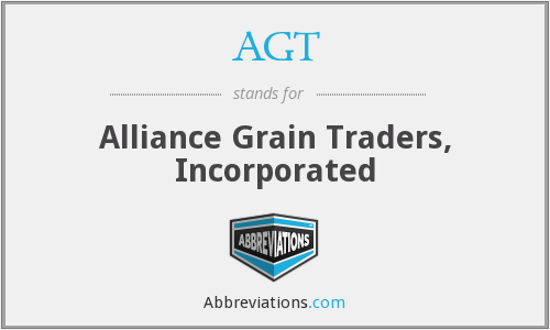 AGT - Alliance Grain Traders, Incorporated