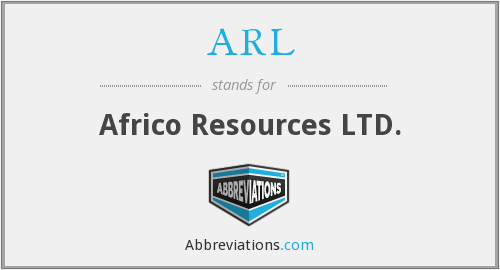 ARL - Africo Resources LTD.