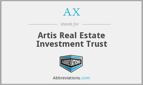 AX - Artis Real Estate Investment Trust