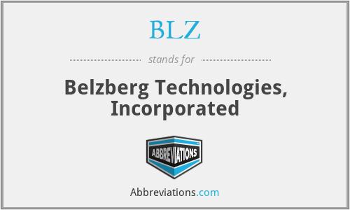BLZ - Belzberg Technologies, Incorporated