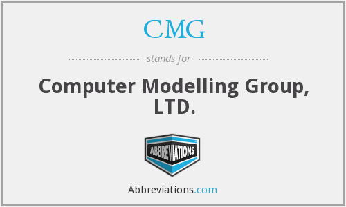 CMG - Computer Modelling Group, LTD.