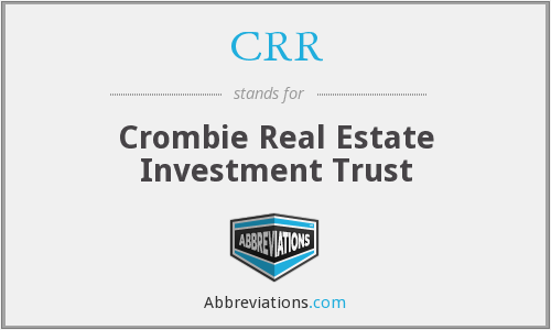 CRR - Crombie Real Estate Investment Trust