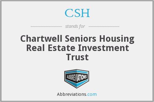 CSH - Chartwell Seniors Housing Real Estate Investment Trust