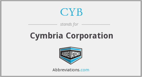 CYB - Cymbria Corporation