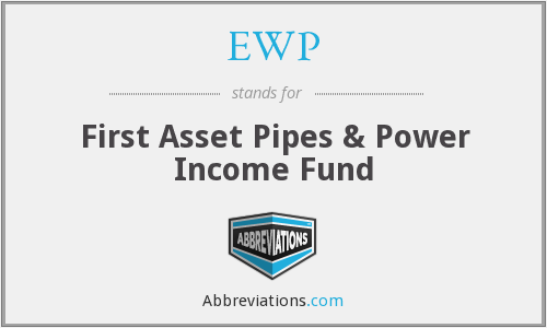 EWP - First Asset Pipes & Power Income Fund