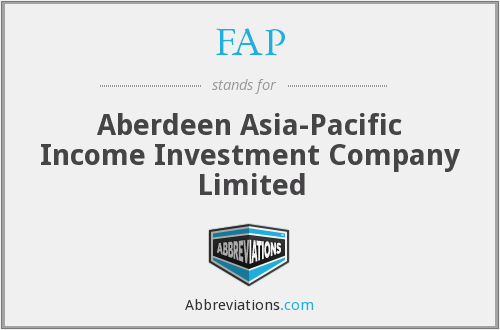 FAP - Aberdeen Asia-Pacific Income Investment Company Limited