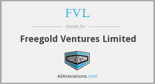 FVL - Freegold Ventures Limited