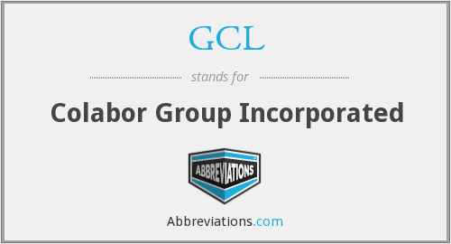 GCL - Colabor Group Incorporated