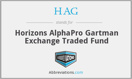 HAG - Horizons AlphaPro Gartman Exchange Traded Fund