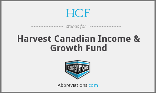 HCF - Harvest Canadian Income & Growth Fund