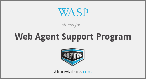 WASP - Web Agent Support Program