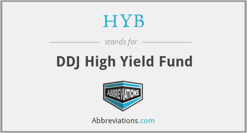 HYB - DDJ High Yield Fund