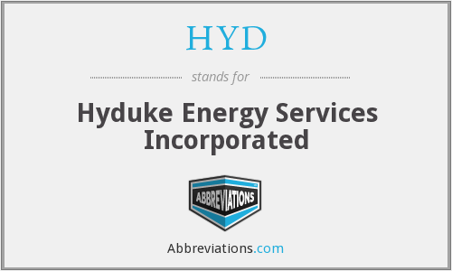 HYD - Hyduke Energy Services Inc.