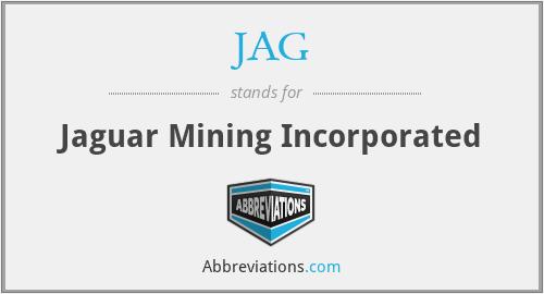 JAG - Jaguar Mining Incorporated