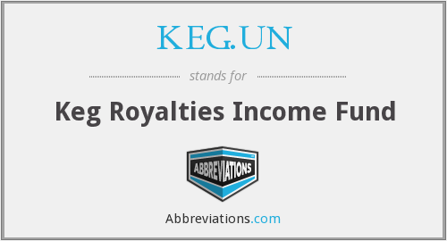 KEG - Keg Royalties Income Fund (The)