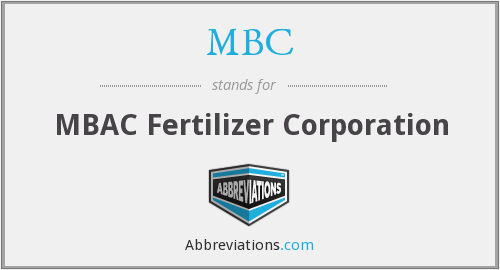 MBC - MBAC Fertilizer Corporation