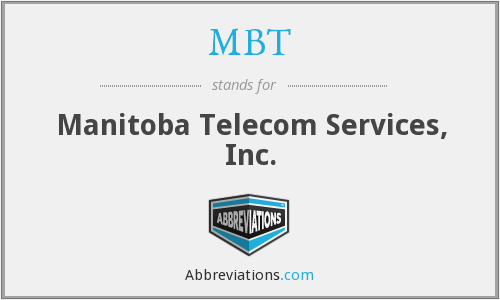 MBT - Manitoba Telecom Services, Inc.