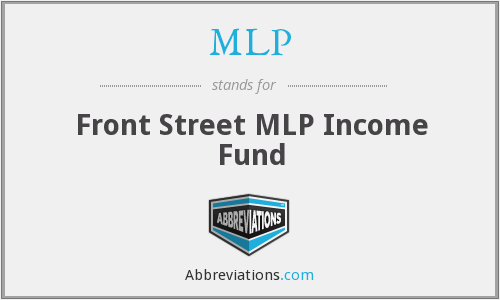 MLP - Front Street MLP Income Fund
