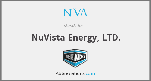 NVA - NuVista Energy, LTD.