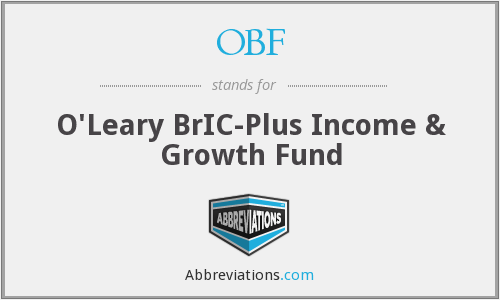OBF - O'Leary BrIC-Plus Income & Growth Fund