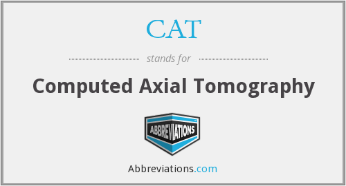 CAT - Computed Axial Tomography