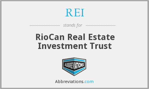 REI - RioCan Real Estate Investment Trust