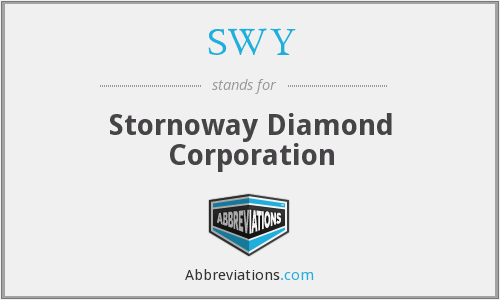 SWY - Stornoway Diamond Corporation