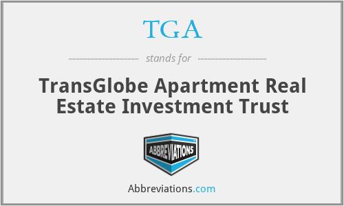 TGA - TransGlobe Apartment Real Estate Investment Trust