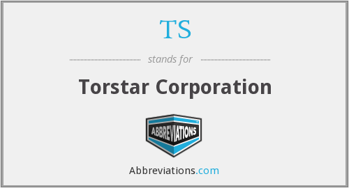 TS - Torstar Corporation