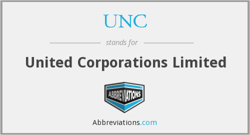 UNC - United Corporations Limited