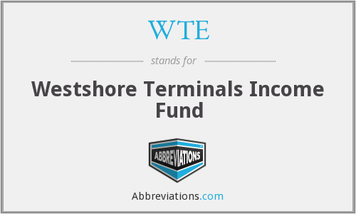 WTE - Westshore Terminals Income Fund