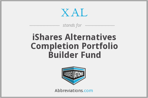 XAL - iShares Alternatives Completion Portfolio Builder Fund
